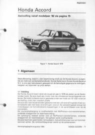 Honda Civic  Vraagbaak ATH 78-82 #1 Nederlands