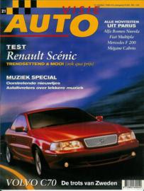 1996 Autovisie NR 21 tijdschrift