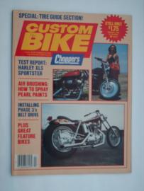 Costum Bike Choppers Tijdschrift 1982 Februari #1 Engels