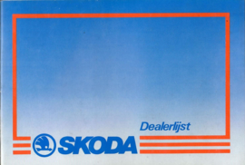 Skoda   Dealerlijst 87 #4 Nederlands