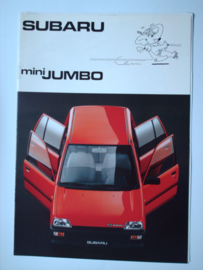Subaru Mini Jumbo  Brochure 89 #1 Nederlands