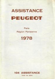 Peugeot   Dealerlijst 78 #1 Frans
