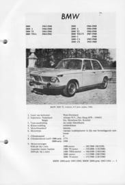 BMW 1800 2000  Vraagbaak ATH 63-68 #4 Nederlands