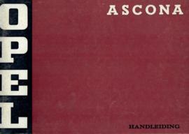 Opel Ascona A  Instructieboekje 73 #2 Nederlands