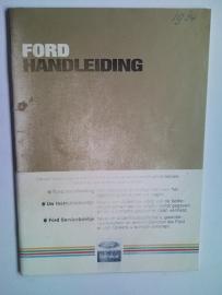 Ford Alle Modellen  Instructieboekje 84 #2 Nederlands