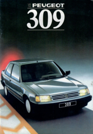 Peugeot 309  Brochure 88 #1 Nederlands