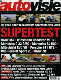 Autovisie   Tijdschrift 2001 NR 26 #1 Nederlands