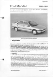 Ford Scorpio  Vraagbaak ATH 85-89 #1 Nederlands