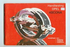 Opel Ascona C  Instructieboekje 81 #3 Nederlands