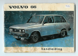 Volvo 66  Instructieboekje 78 #3 Nederlands