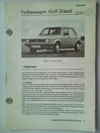 Volkswagen Golf 1  Vraagbaak ATH 79 #1 Nederlands