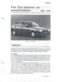 Fiat Tipo  Vraagbaak ATH 88-92 #1 Nederlands
