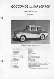 Goggomobil Isar 600 700  Vraagbaak ATH 59-64 #1 Nederlands