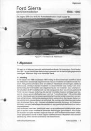 Ford Sierra  Vraagbaak ATH 86-90 #1 Nederlands