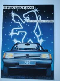 Peugeot 205  Brochure 84 #2 Nederlands