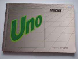Fiat Uno  Instructieboekje 89 #4 Nederlands