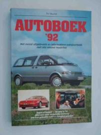 Autoboek   Jaarboek 1992 #4 Nederlands