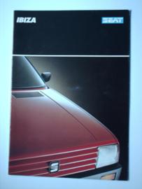 Seat Ibiza  Brochure 88 #1 Nederlands