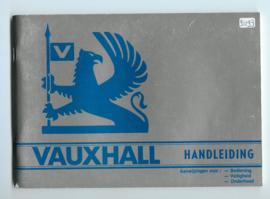 Vauxhall Chevette Cavalier Carlton Royale  Instructieboekje 79 #2 Nederlands