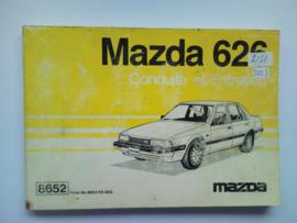 Mazda 626  Instructieboekje 85 #1 Nederlands Frans