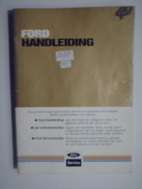 Ford Alle Modellen  Instructieboekje 83 #2 Nederlands