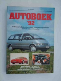 Autoboek   Jaarboek 1992 #3 Nederlands