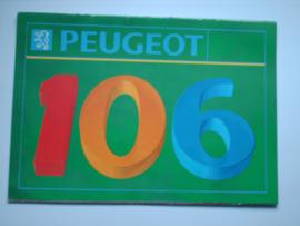 Peugeot 106  Brochure 92 #2 Nederlands