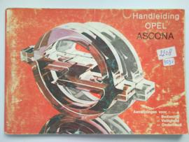 Opel Ascona C  Instructieboekje 81 #2 Nederlands