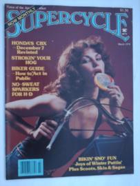 Supercycle Tijdschrift 1979 Maart #1 Engels