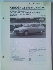 Citroen GS  Vraagbaak ATH 78-80 #2 Nederlands