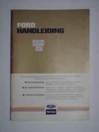 Ford Alle Modellen  Instructieboekje 85 #1 Nederlands