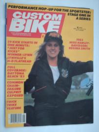 Costum Bike Choppers Tijdschrift 1983 Juni #1 Engels