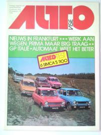 Autovisie   Tijdschrift 1975 NR 19 #1 Nederlands