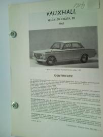 Vauxhall Velox Cresta PB  Vraagbaak ATH 63 #1 Nederlands