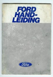 Ford Alle Modellen  Instructieboekje 78 #3 Nederlands
