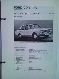 Ford Cortina  Vraagbaak ATH 68-70 #1 Nederlands