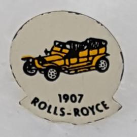SP0309 Speldje 1964 Rolls-Royce [geel]