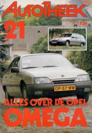 Opel Omega A  Brochure 86 #2 Nederlands