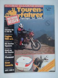 Touren-Farher Tijdschrift 1994 NR 03 Maart #1 Duits