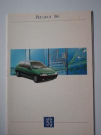 Peugeot 106  Brochure 93 #2 Nederlands