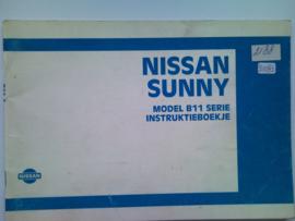 Nissan Sunny B11 Instructieboekje 84 #1 Nederlands