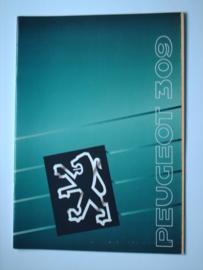 Peugeot 309  Brochure 90 #1 Nederlands