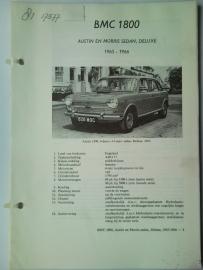 BMC 1800 Ado 17 Vraagbaak ATH 65-66 #3 Nederlands