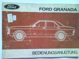 Ford Granada  Instructieboekje 75 #1 Duits