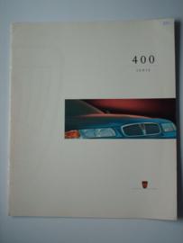 Rover 400  Brochure 95 #1 Nederlands