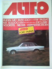 1976 Autovisie NR 06 tijdschrift