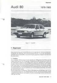 Audi 80  Vraagbaak ATH 78-83 #1 Nederlands
