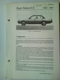 Opel Rekord E  Vraagbaak ATH 82-87 #1 Nederlands