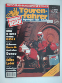 Touren-Farher Tijdschrift 1995 NR 01/02 Januari/Februari #1 Duits