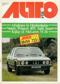 Autovisie Tijdschrift 1977 NR 17 #1 Nederlands